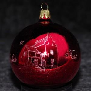 Leeraner Weihnachtskugel 2012 - Harderwykenburg Leer